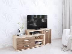 Тумба ТВ Парус-3 дуб сонома/ясень шимо